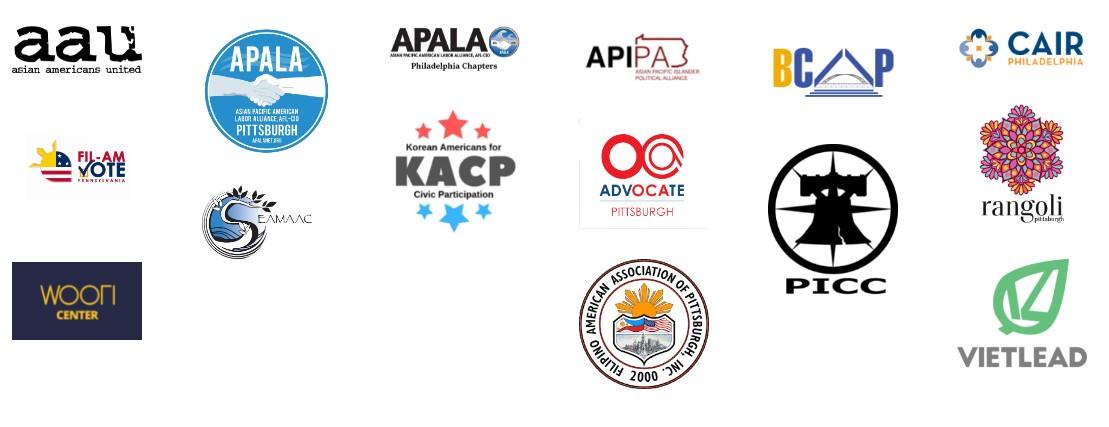 Aapi Caucus Group Logos